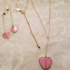 Kate♠️Spade 💖Pink Hearts Set